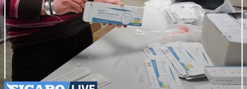 Allemagne : ruée sur les tests antigéniques désormais vendus dans le commerce