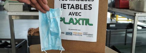 Des masques usagés recyclés en... équerres et règles pour les collégiens