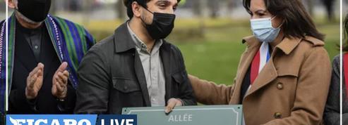 Le commandant Massoud a désormais une allée à son nom sur les Champs-Élysées