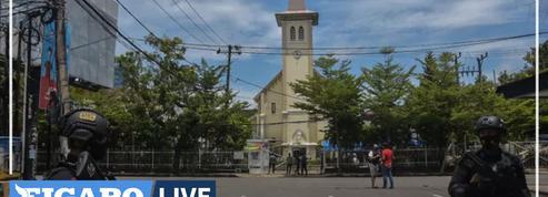 Indonésie : deux assaillants tués dans l'attentat contre une cathédrale après la messe des Rameaux