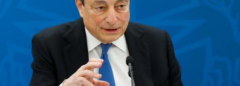 Italie: Draghi parie sur une «forte reprise» de l'économie pour assainir la dette