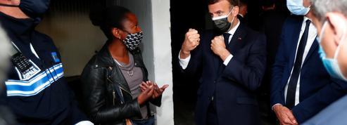 À Montpellier, Emmanuel Macron vient parler sécurité mais est interpellé sur la mixité