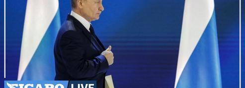 Poutine enjoint aux Occidentaux de ne «pas franchir la ligne rouge»