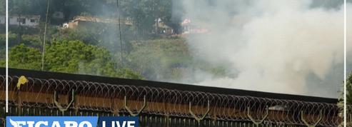 Centrafrique : l'ambassade de France fortement endommagée par un incendie