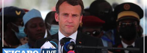 Au Tchad, Macron confronté aux incertitudes de l'après-Déby