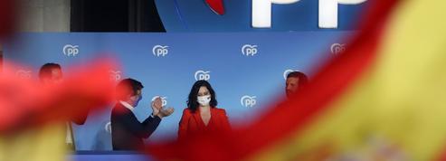 Régionales en Espagne: «La nouvelle figure de la droite, Isabel Díaz Ayuso, triomphe à Madrid»