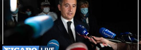 Policier tué à Avignon : «La lutte contre les trafics de stupéfiants, s'apparente à une guerre», réagit Gérald Darmanin