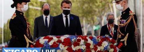 Commémoration du 8 mai : la réponse subliminale de Macron à la tribune de militaires