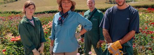 Catherine Frot, amoureuse des roses au bord de la faillite, dans La Fine Fleur