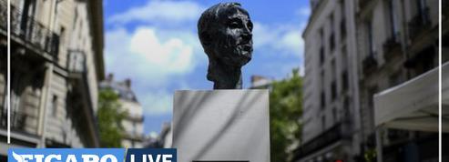 Un buste d'Aznavour inauguré dans le Saint-Germain-des-Prés de son enfance