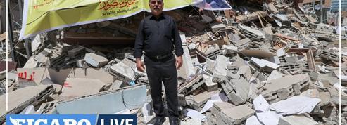 100.000 livres sous les ruines : à Gaza, la librairie al-Mansour n'a pas échappé aux frappes