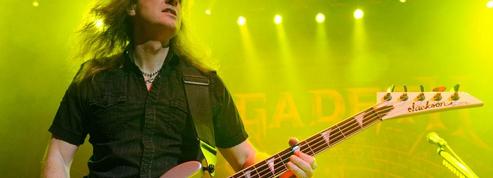 Le bassiste fondateur de Megadeth, accusé d'entretenir une relation avec une mineure, mis sur la touche