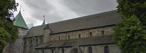 La cathédrale norvégienne de Stavanger, construite sur une colonie Viking ?