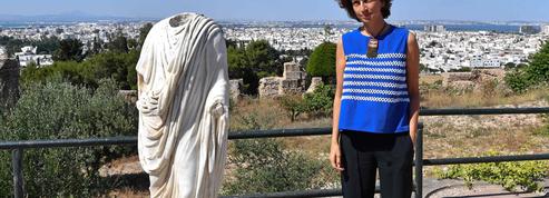 Audrey Azoulay appelle à la mobilisation pour protéger Carthage