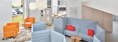 Dans les bureaux, le mobilier s'adapte à la révolution du télétravail