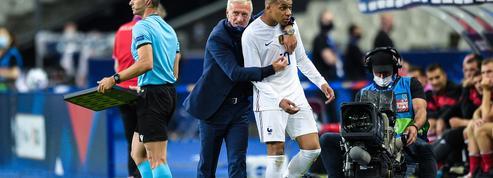 Bleus: Friture sur la ligne entre Giroud et Mbappé