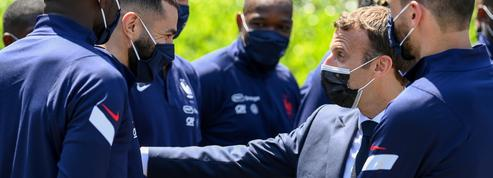 Macron sur le retour de Benzema: «Deschamps a fait le bon choix pour les Bleus et la nation»