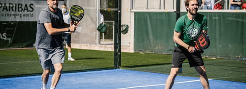 Quand le padel, discipline en vogue, s'invite à Roland-Garros