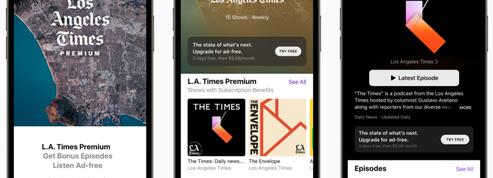 Jour J pour le lancement des abonnements sur Apple Podcasts