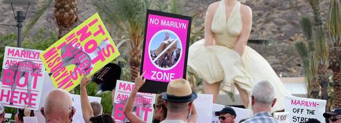 Des manifestations à l'inauguration d'une statue de Marilyn Monroe, jugée «misogyne»
