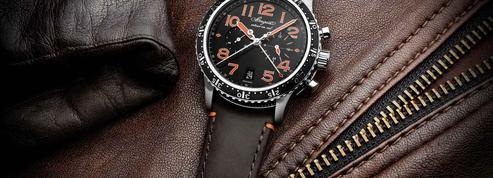 Un chronographe d'aviation en titane signé Breguet