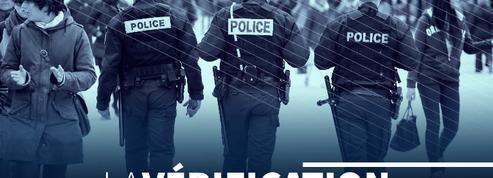 Y a-t-il quatre fois moins d'agressions de policiers qu'il y a dix ans ?