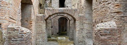 Coulisses des spectacles antiques, les souterrains du Colisée s'ouvrent au public