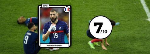 Les notes des Bleus : Karim Benzema seul rescapé d'un naufrage collectif