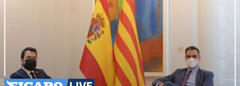 Crise en Catalogne: reprise du dialogue avec Madrid fin septembre