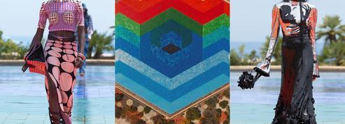 Le défilé Paco Rabanne qui met Vasarely sur orbite