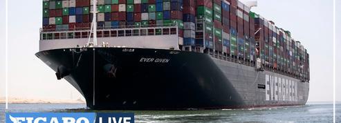 Canal de Suez: l'Ever Given a levé l'ancre après 100 jours d'immobilisation