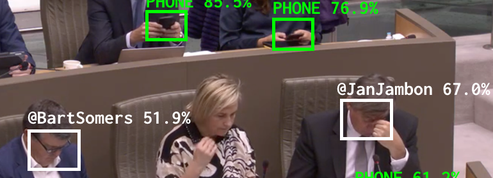 Belgique : les parlementaires distraits par leur smartphone traqués… par une IA