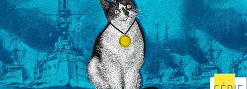 Simon, le chat embarqué de la Royal Navy