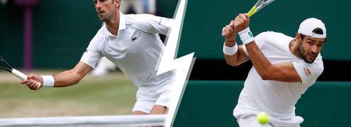 Cinq raisons de suivre la finale de Wimbledon entre Djokovic et Berrettini