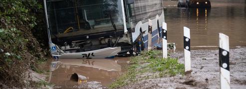 Inondations en Allemagne et en Belgique : les images des villes et campagnes dévastées