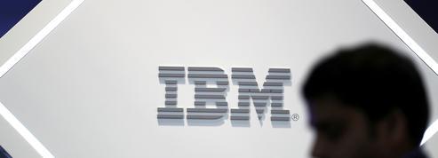 IBM fait grimper son chiffre d'affaires pour le 2e trimestre de suite