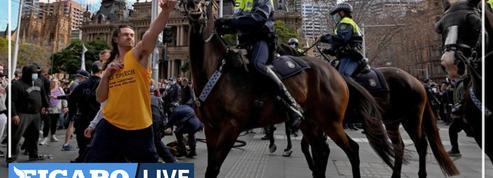 Covid-19 : l'Australie secouée par des manifestations anti-confinement et des affrontements avec la police