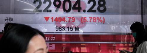 La Bourse de Hong Kong termine la séance en baisse de 4,22%