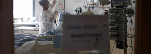 Covid-19 : 60 morts en 24 heures, 7363 malades hospitalisés