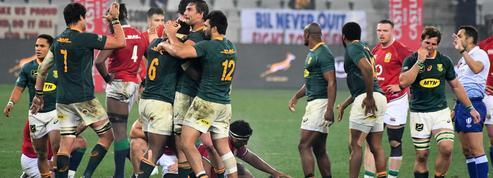La série pour les Springboks, qui l'emportent sur le fil face aux Lions