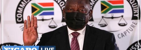 Afrique du Sud : le président Ramaphosa reconnaît la corruption de l'État quand il était vice-président