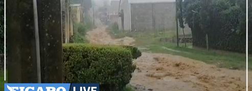 Mexique : le puissant ouragan Grace touche terre dans l'Est