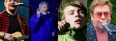 Ed Sheeran, Tom Jones, Billie Eilish, Elton John...: les stars internationales reviennent à Paris