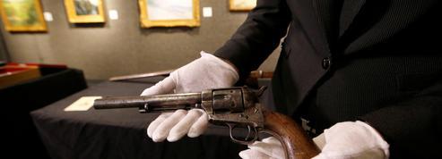 Le Colt qui tua Billy the Kid vendu pour le prix record de six millions de dollars aux enchères
