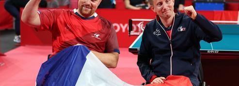 Paralympiques : Lamirault et Molliens sacrés en tennis de table, 10e médaille d'or pour la France