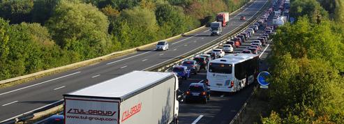 Transport routier: 500.000 euros d'amendes pour boycottage de plateformes numériques