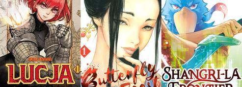 Lucja ,Butterfly Beast ,Shangri-la Frontier … Les mangas de la rentrée à découvrir