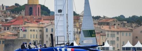 Voile : les bombes volantes et leurs marins du circuit SailGP jouent les stars à Saint-Tropez