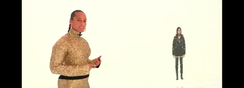 En coulisse avec Alicia Keys, animatrice d'un show en mondovision pour Moncler