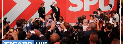 Élections en Allemagne : les sociaux-démocrates remportent les législatives